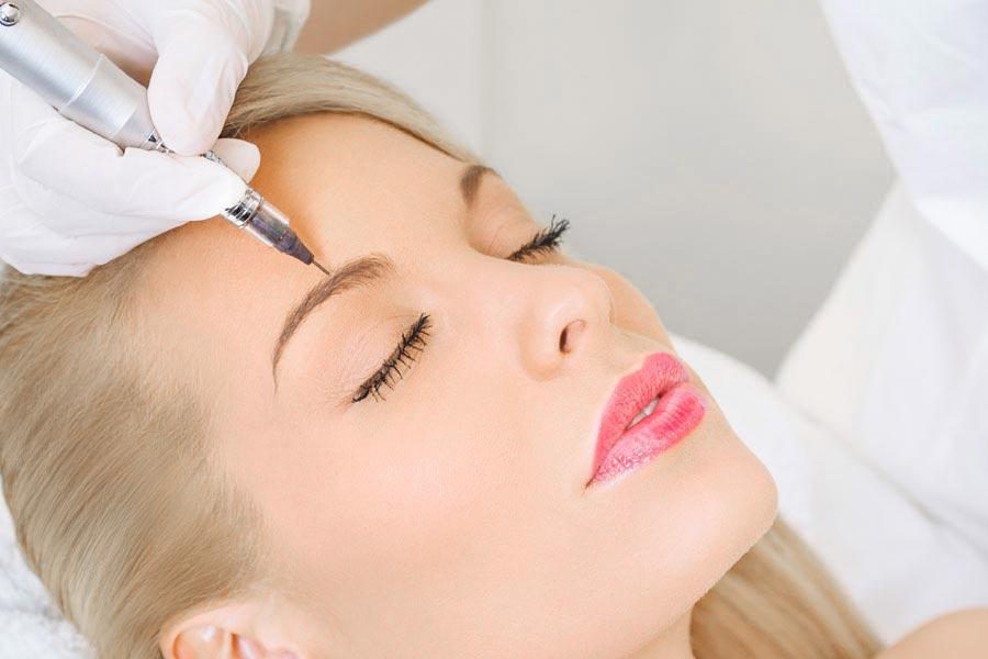 Permanent Make-Up für die Augenbrauen