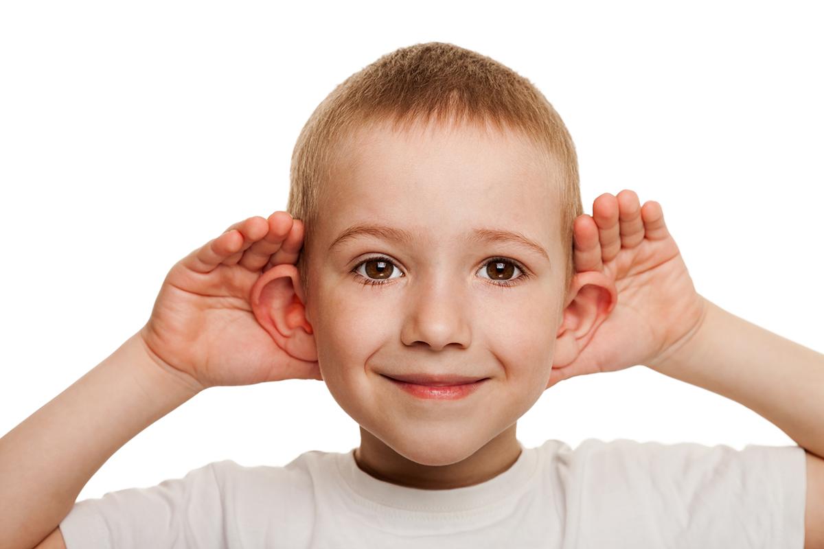 Ohren anlegen bei Kindern