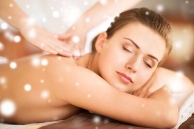 Körper und Massage